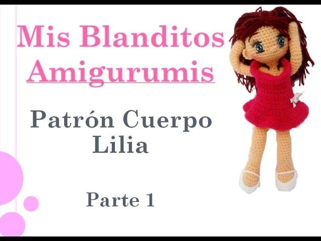 Patrón crochet muñeca Lilia Amigurumi Parte 1 - clipzui.com