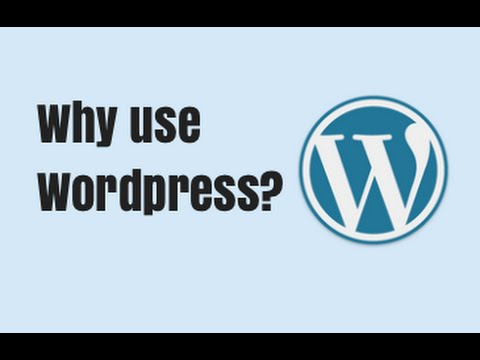 What is Wordpress and Why use it? - Quick Tutorial - YouTube