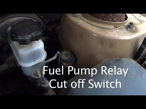 Fuel Pump Relay Cut-off Switch - Easy Fix 2001 - 2005 Hyundai Sante Fe