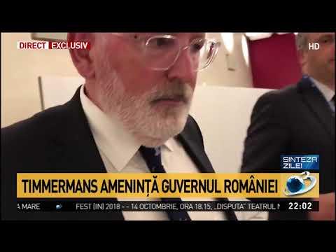 Reacția lui Frans Timmermans pentru Antena 3