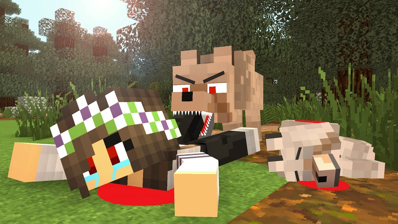 Cute Puppy Live Wallpaper Wolf Life Ii Minecraft Animation Youtube