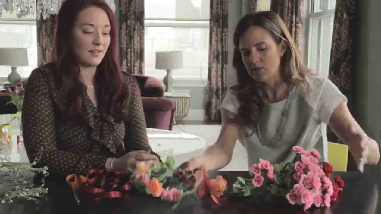 Diy Flower Crown Tutorial For Girls And Flower Girls Youtube