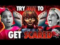 Kids Try Not To Get Scared Challenge