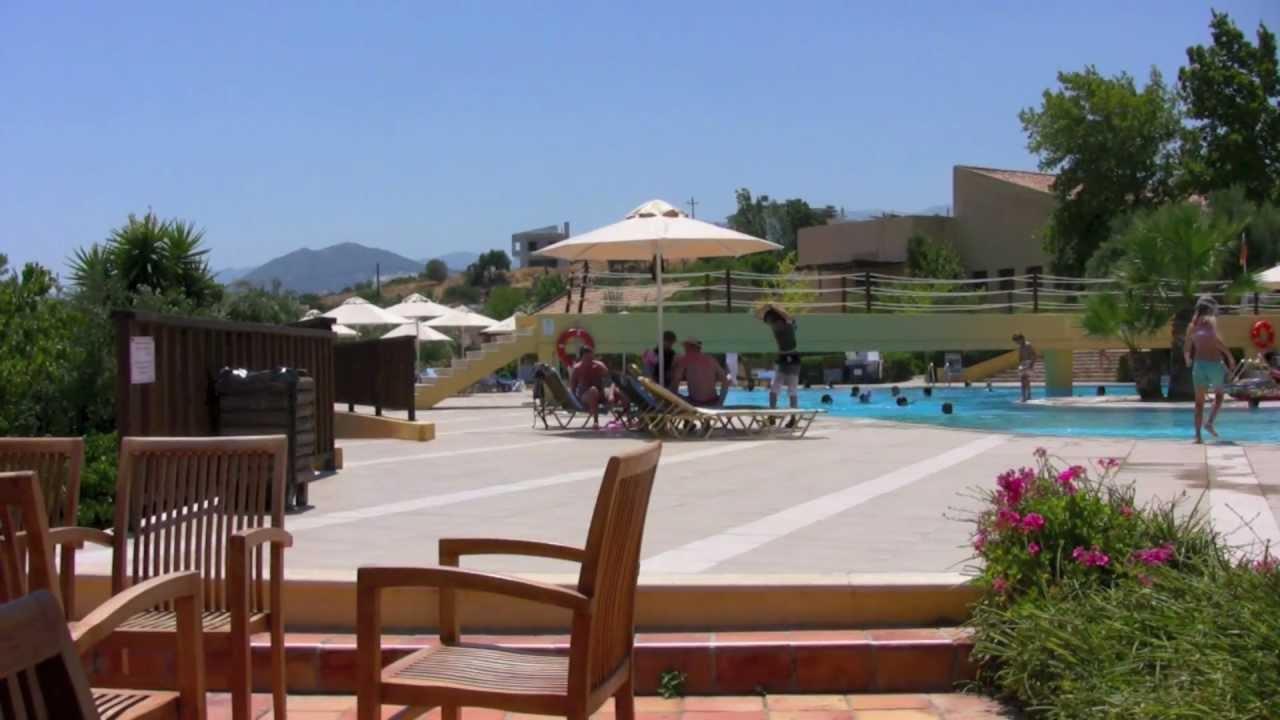 Agios Nikolaos Candia Park Village Youtube