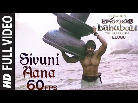 {60fps} Sivuni Aana Telugu Full Video Song || Baahubali || HD
