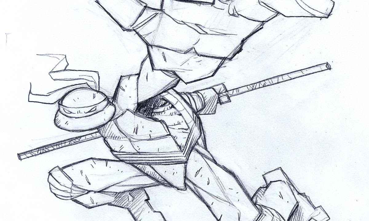 how to draw ninja turtle in 15 min jason brubaker youtube
