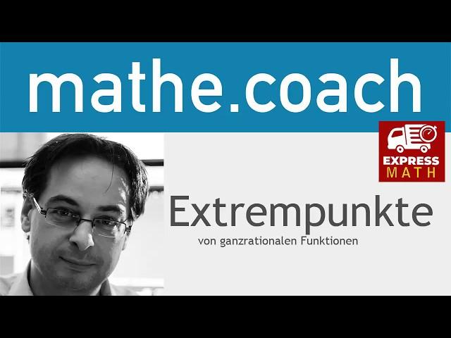 ExpressMath - Extrempunkte bestimmen