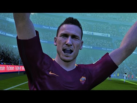 Pro Evolution Soccer 2017 | Gameplay | High Graphic | Roma vs Milan