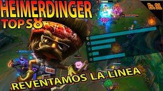 | HEIMERDINGER TOP S8 |   | EXPLOTANDO A EZREAL EN TOP| GAMEPLAY ESPAÑOL |