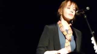 Suzanne Vega - Horizon The Road Beyond This One (new song) - live Freiheiz Munich 2014-02-11