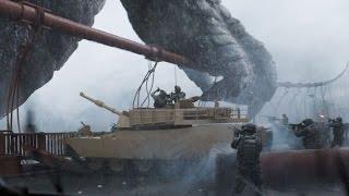 Армия США атакует Годзиллу | Годзилла | 2014