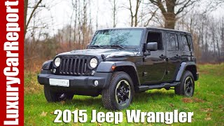 2016 Jeep Wrangler Unlimited X Review and Test Drive!