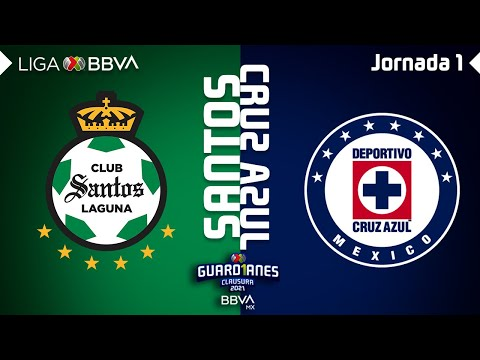 Santos Laguna Cruz Azul Goals And Highlights