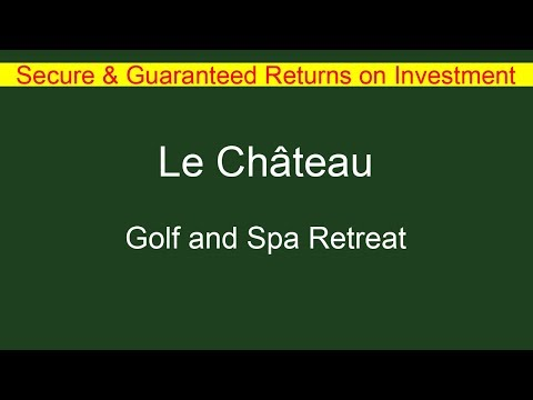 French Property - Le Chateau Golf & Spa Retreat