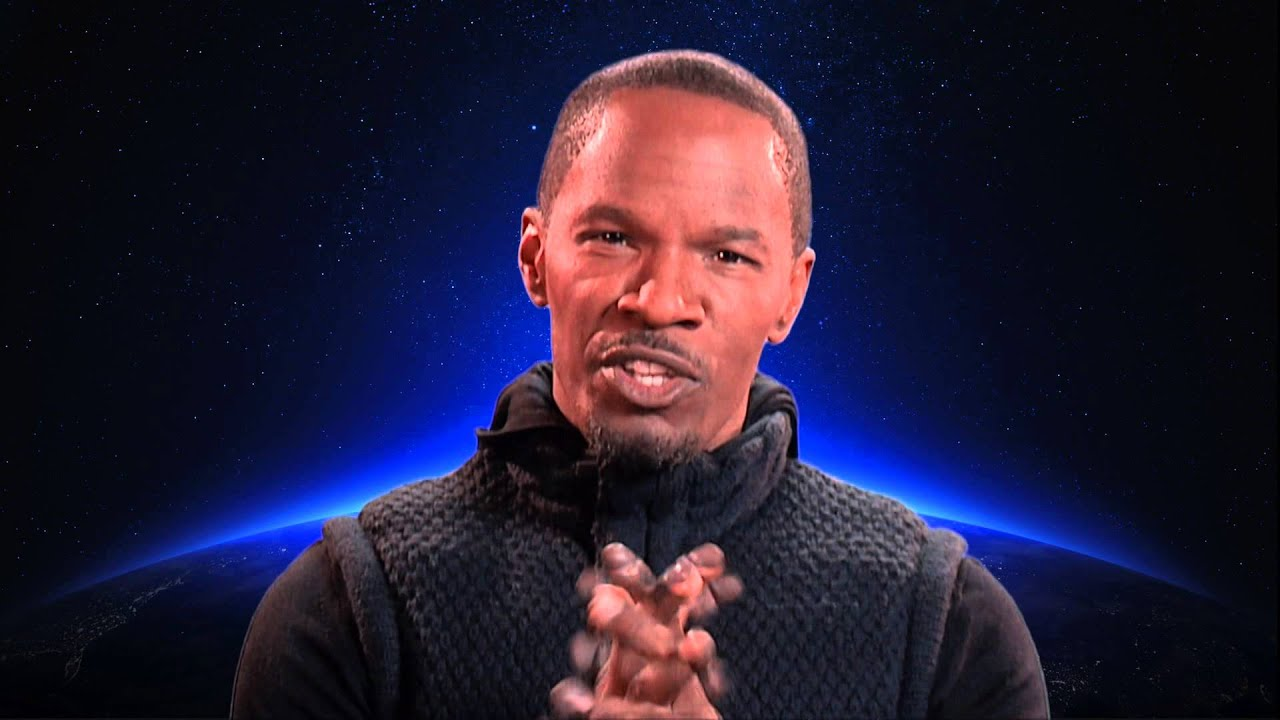 Jamie Foxx Earth Hour Blue Video 2014 (30 seconds)