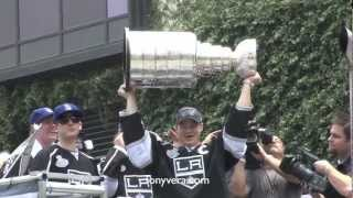 Kings celebrate Stanley Cup with parade, rally &  Bob Miller play-by-play announcer Talks