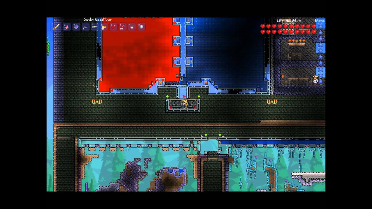 how to get gold on terraria