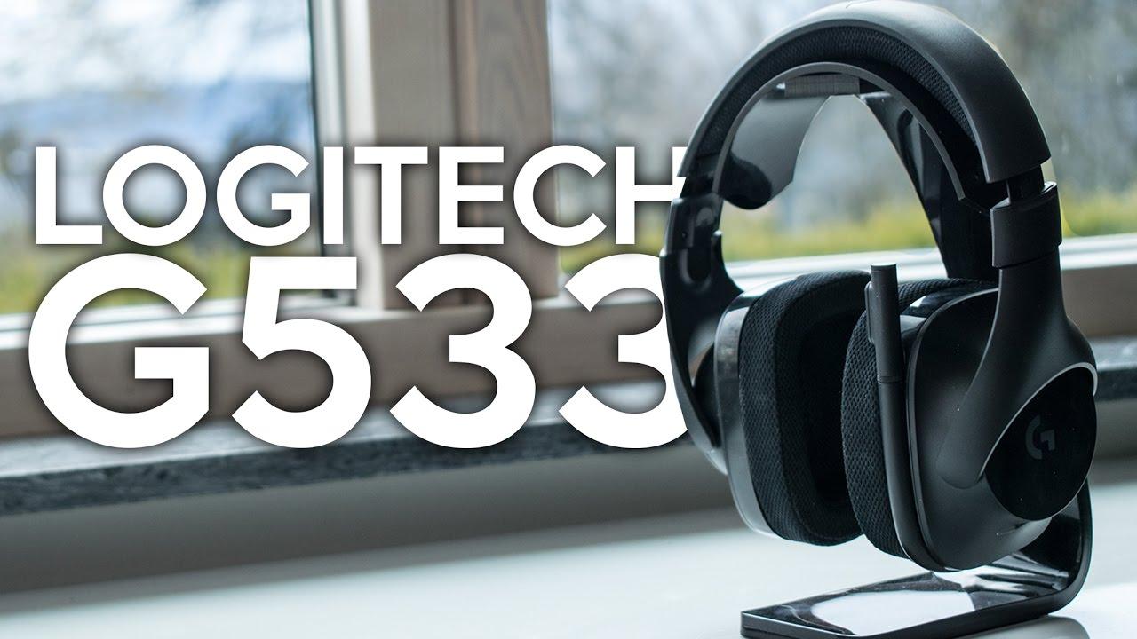 Recension - Logitech G533 - Ett