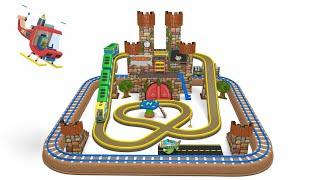 बच्चों के लिए ट्रेन   बच्चों के लिए शैक्षिक कार्टून वीडियो - Toy Factory