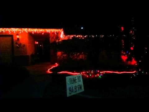 Huntly Road Lights - Techno Jingle Bells