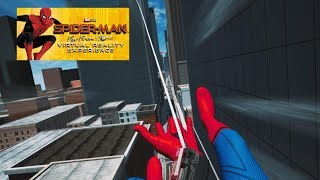 Become Spider-Man! Spider-Man: Far From Home Virtual Reality Playthrough!