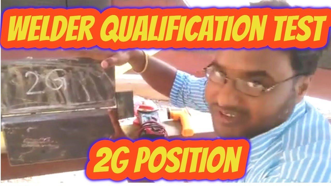Welder Qualification Test (Performance Qualification