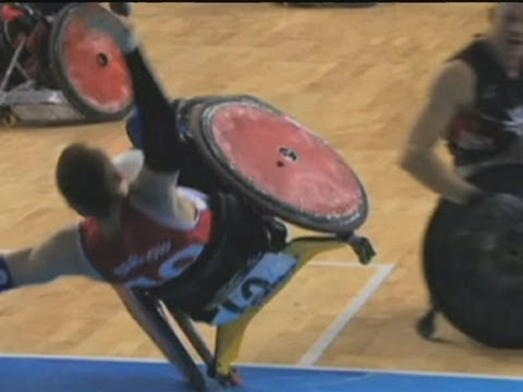 Murderball: Wheelchair Rugby Shows How Tough It Can Be