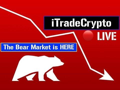 Bitcoin Hitting New Lows! 🔴 LIVE | Crypto | Bitcoin