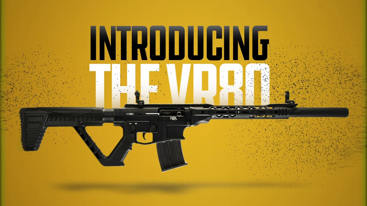 Rock Island Promises New VR80 Semi-Auto Shotgun w/ AR