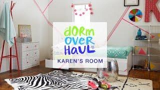 Karen Kavett's Dorm Room Design