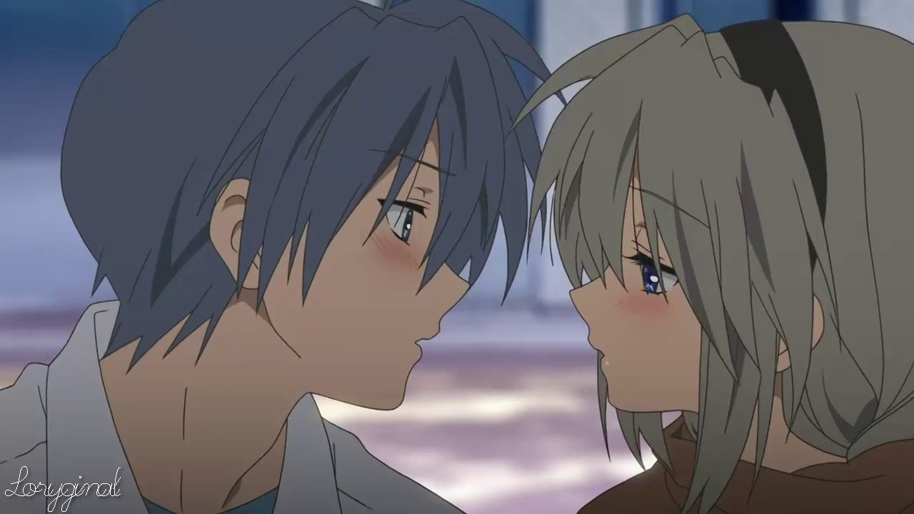 Romantic ~ Anime kiss scenes and a few almost kisses アニメ ...