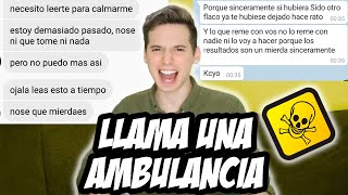 RESPONDEME O ME MATO (CONVERSACIONES TOXICAS) - Pablo Agustin