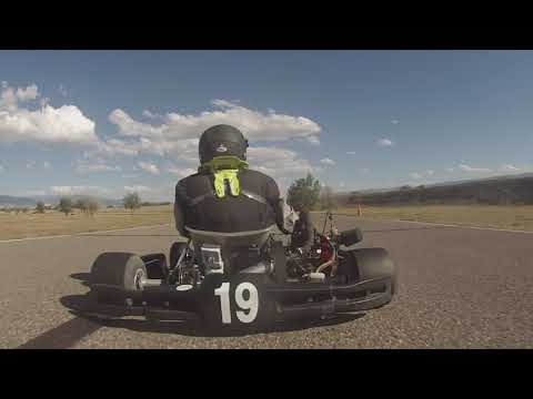 Colorado Karting Tour 2019 Round 3 - Grand Junction Motor Speedway LO206 Heavy Heat 1