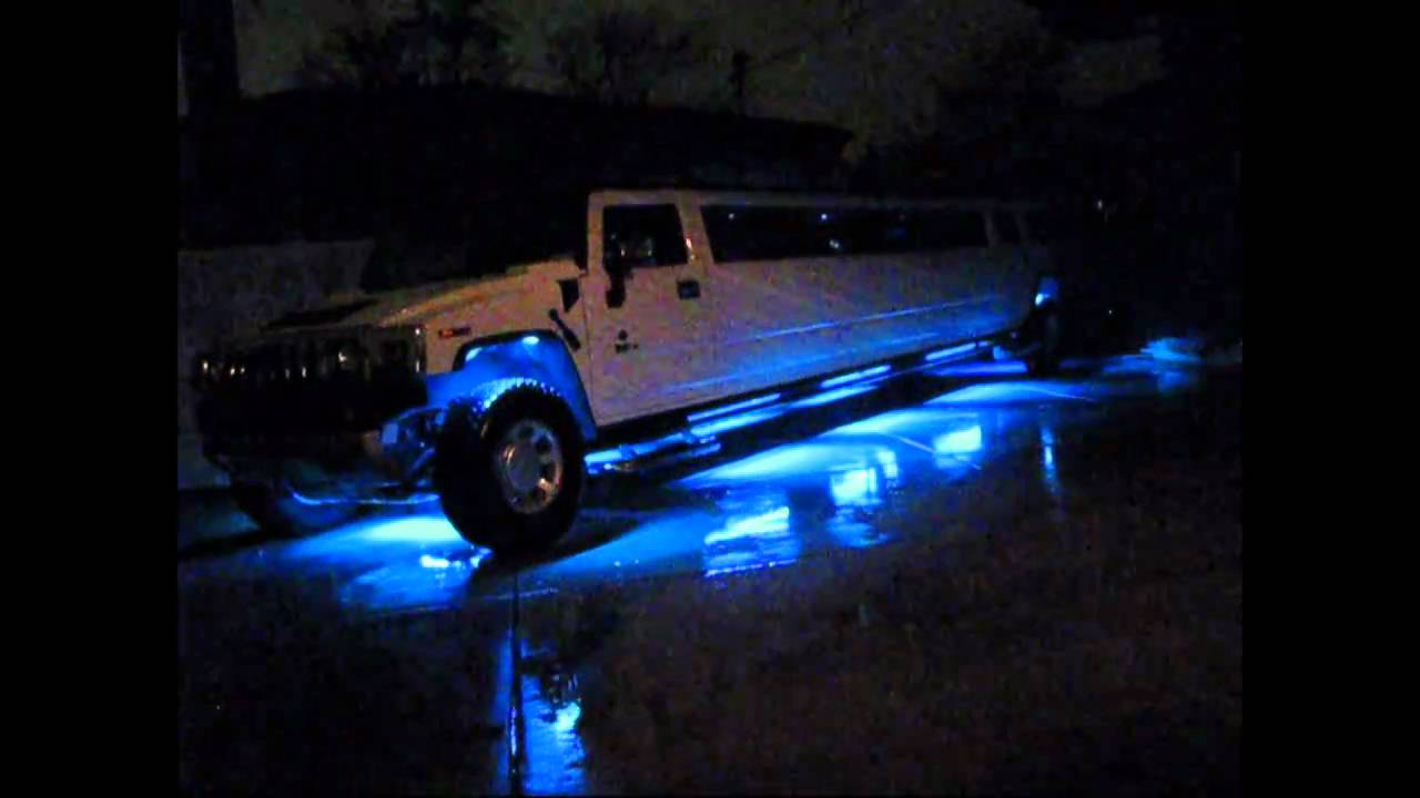 2009 Hummer H2 200'' stretch Limo for Sale - YouTube