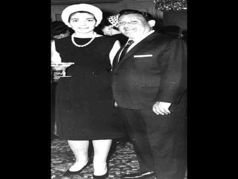Richard Tucker & Maria Callas sing La forza del destino - Giuseppe Verdi ( Ah per sempre )
