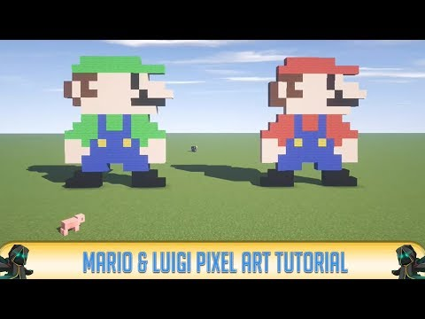 how to build mario in minecraft