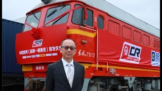 """New """"Silk Road"""" Rail Route between Asia & Europe"""