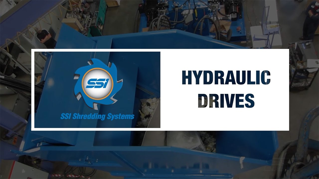 SSI Technology: Hydraulic Shredder Drives