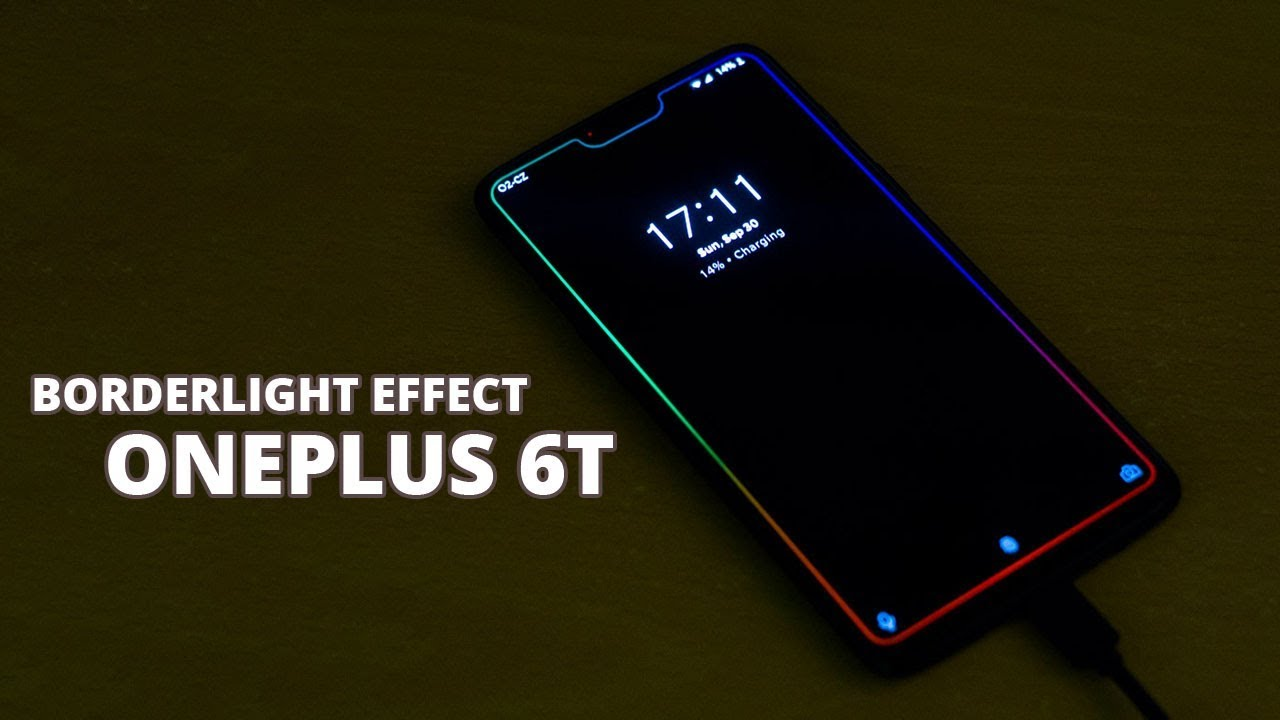 4 85 Mb Oneplus 6 Borderlight Live Wallpaper Effects Borderlight