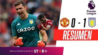 ¡EL UNITED ERRÓ UN PENAL EN EL FINAL Y PERDIÓ EN CASA!   Manchester United 0-1 Aston Villa   RESUMEN