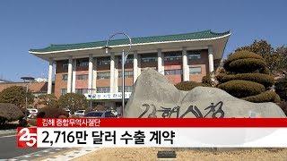김해 종합무역사절단, 2716만 달러 수출 계약