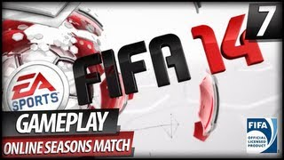 FIFA 14 Online Gameplay - First Seasons Match (Commentary)