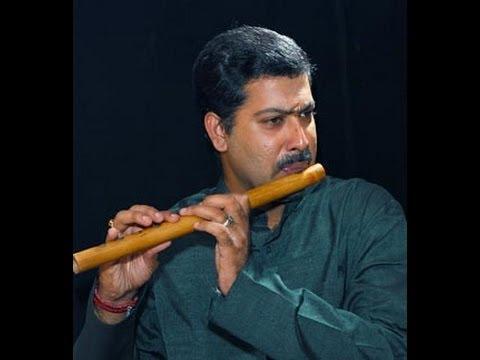 Parivadini Live- Dr.P.Padmesh flute for Mali Day Celebration by RAF 1st June 2014