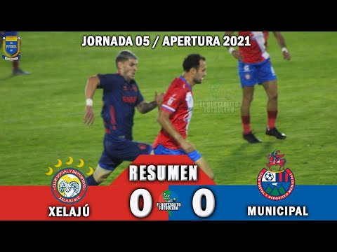 Xelajú 0 vs Municipal 0 / RESUMEN COMPLETO / Jornada 05 Apertura 2021