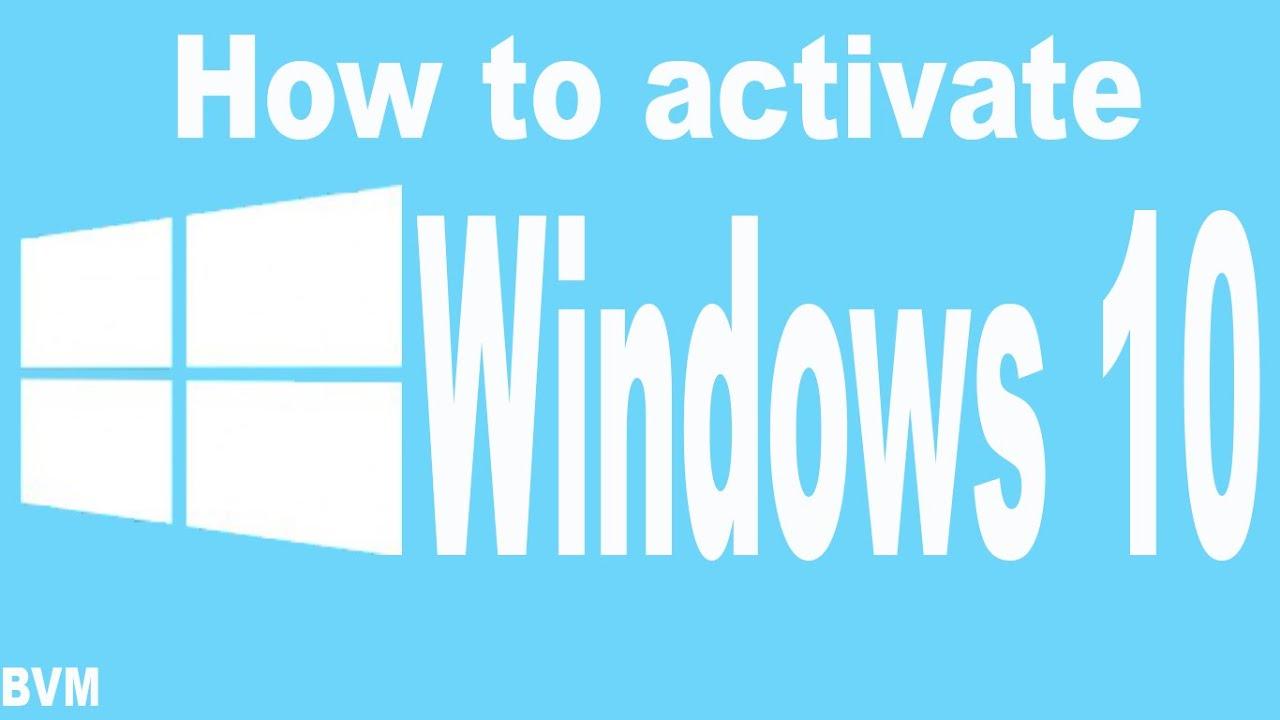 activation key for windows 10 pro build 10240