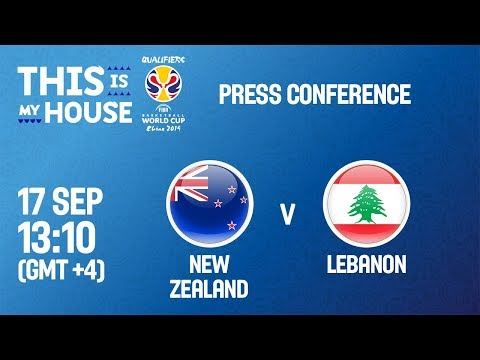 New Zealand v Lebanon - Press Conference - FIBA Basketball World Cup 2019 Asian Qualifiers