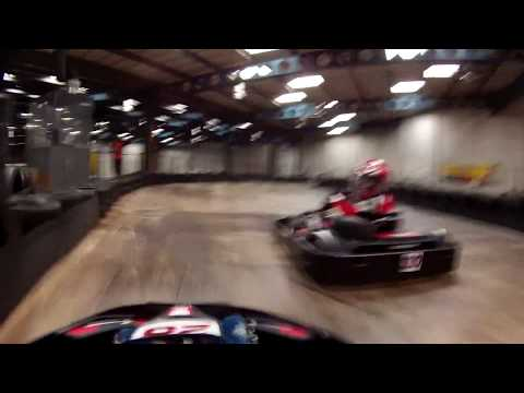 TeamSport Typhoon Kart Champs cadet Finals 2017