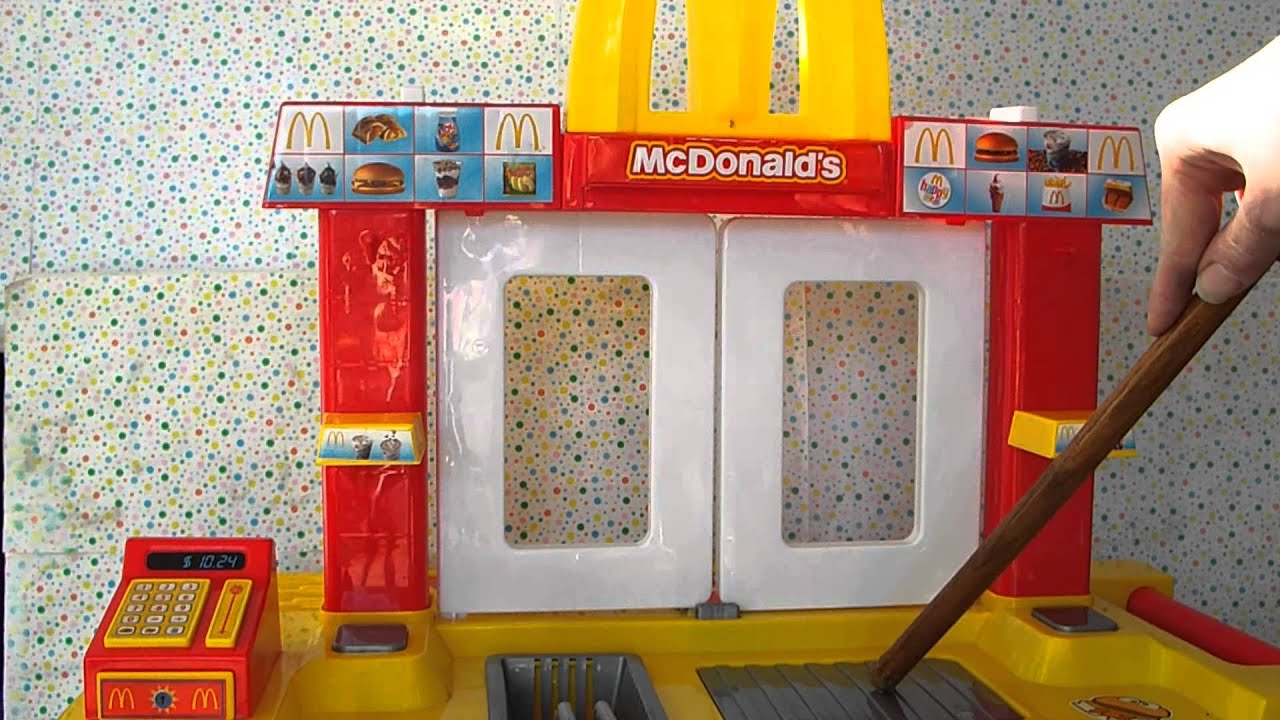 Mcdonald S Drive Through Toy Youtube