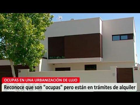 Okupas en una urbanización de lujo de Aranjuez