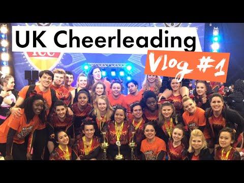UK Cheerleading Vlog #1 - ICC Nottingham 2016